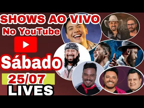 lives-de-hoje-ao-vivo-25/07-(sábado)-só-as-melhores-veja-quem-faz-shows-ao-vivo-hoje-no-youtube