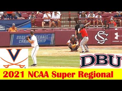 Dallas Baptist vs Virginia Baseball Game Highlights, 2021 NCAA Super Regional Game 2 |
