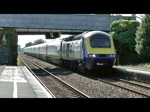 Clips of Trains on the Longest Day of 2014