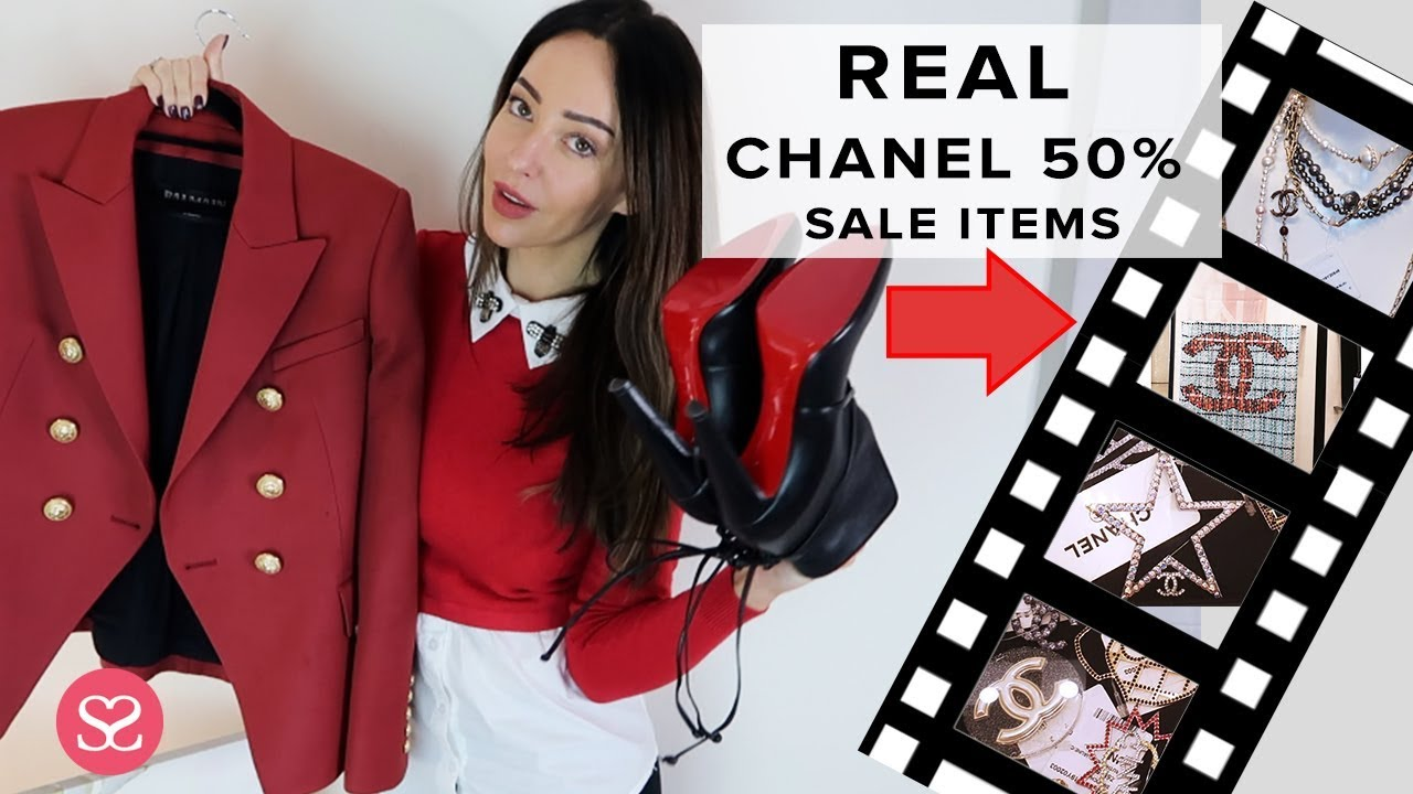 38ab77bb LUXURY SHOPPING HACKS + Chanel Sale That STARTED TODAY | Sophie ...