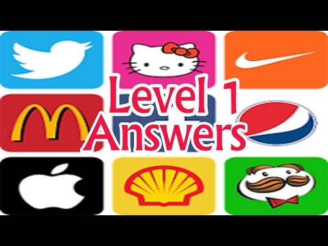 Logo game Brand quiz level 1 walkthrough . About the game--- How many logos can you guess? Logo Quiz.