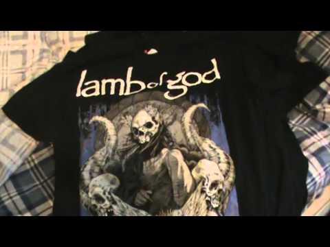 Metal tshirts