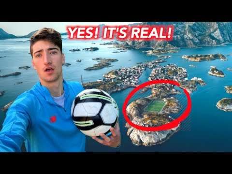 I Actually Went To The World's Most Incredible Football Pitch