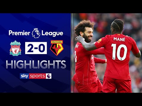 Salah brace sinks Watford | Liverpool 2-0 Watford | Premier League Highlights