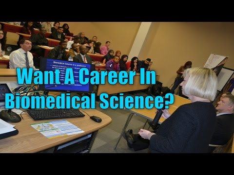 Careers In Biomedical Science | Sarah May | Natural Sciences Careers Expo 2015