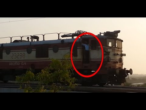 That Moment When Locopilot Acknowledge You  22929 Bhilad Vadodara InterCity with WAG5