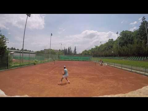 Vasil Ivanov - College Tennis Recruiting Video - Fall 2018 (pt.2)