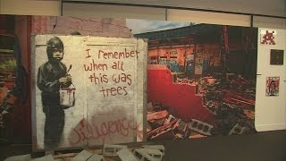 Banksy murals sell at controversial auction