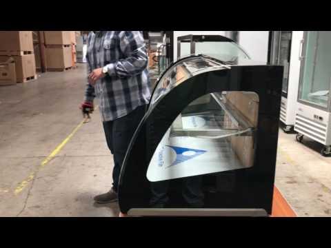 48 ine Hot Food Warmer Glass Counter Top