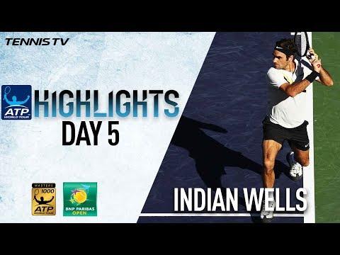 Highlights: Federer Cruises, Fritz Edges Verdasco in Indian Wells 2018