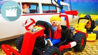 Playmobil Ghostbusters deutsch Film   Ghostbusters Auto wird geklaut   Playmobil Stories