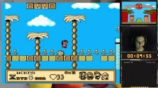 Banana Prince прохождение 100% | Игра на (Dendy, Nes, Famicom, 8 bit) 1991. Live cтрим HD [RUS]