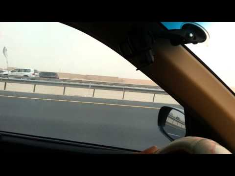 Doha highway driving