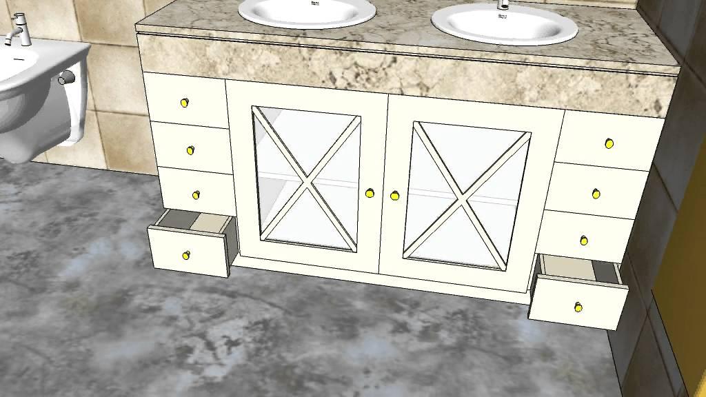 Carpinteria de madera santa clara mueble 2 hojas 8 cajones 1 costado youtube - Carpinteria santa clara ...