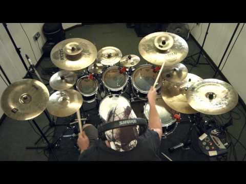 "SYNAPTIK ""The Incredible Machine"" Drum play through Progressive Metal"