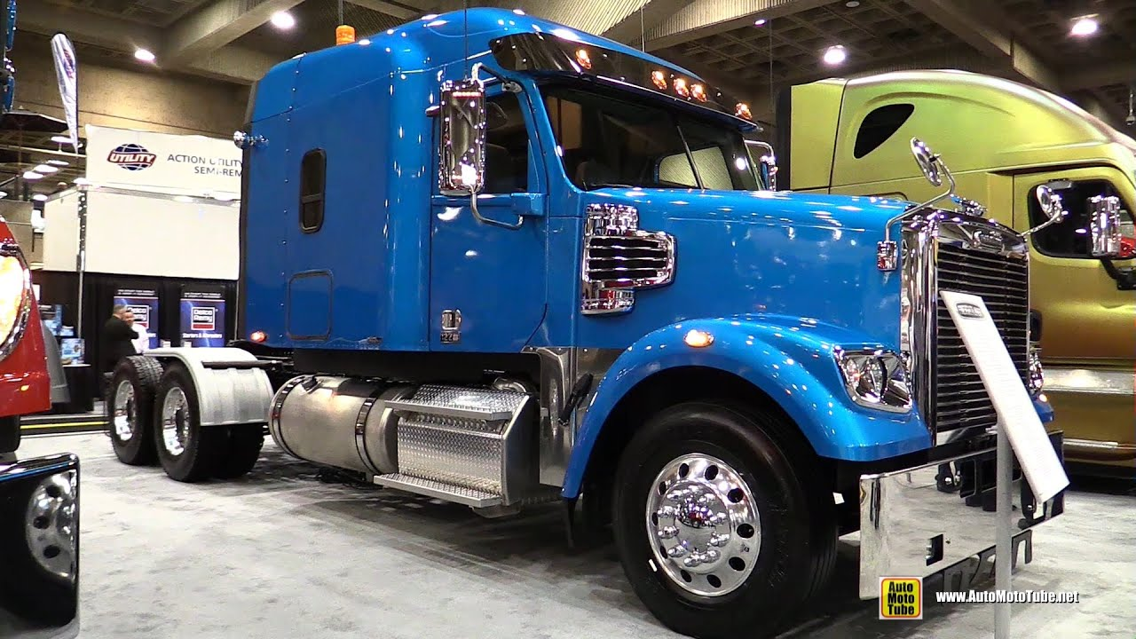 2015 Freightliner 122sd Spa Truck With Detroit Dd15 14 8l