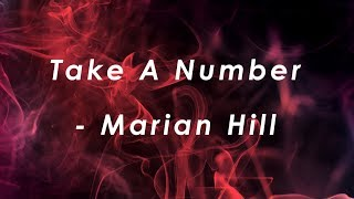 Take a number - Marian Hill (lyrics)