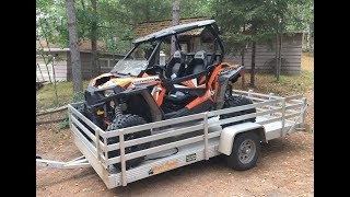 Polaris RZR 1000S Salvage Project PART 1 Assessing the Damage