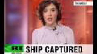 Somali pirates seize container ship