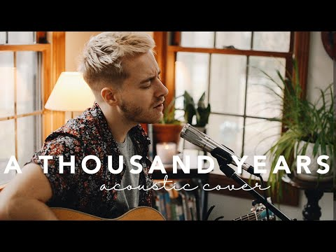 A Thousand Years - Christina Perri Jonah Baker Acoustic Cover