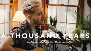 A Thousand Years - Christina Perri (Jonah Baker Acoustic Cover)