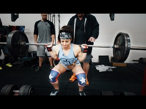 Bodybuilders Try Squatting Like Powerlifters ft. Dana Linn Bailey and Rob Bailey (FULL WORKOUT)