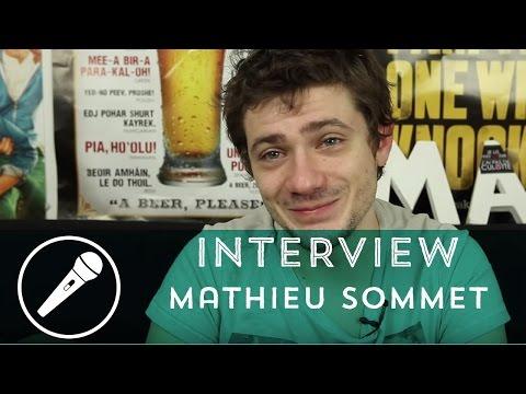 Mathieu Sommet (Salut les Geeks) en interview !