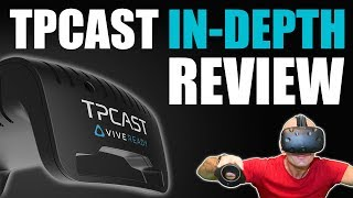 TPCAST Review: Retail EU version In-Depth Testing & Full Coverage | HTC Vive Wireless VR
