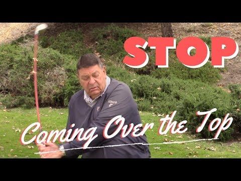 Stop Coming Over The Top! Simple 3 min Fix for Your Golf Swing | Darrell Klassen
