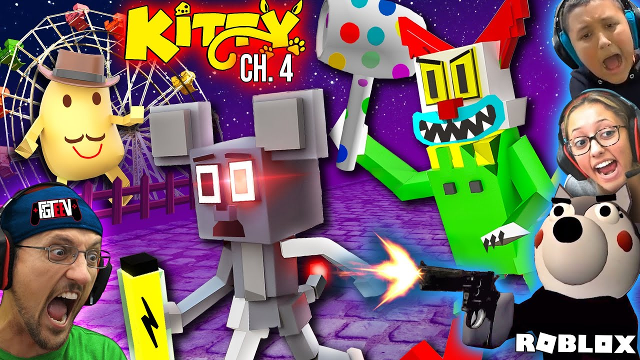 Download ROBLOX KITTY Chapter 4: The Carnival + PIGGY Book 2 (FGTeeV Family Escape)