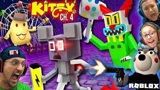 ROBLOX KITTY Chapter 4: The Carnival + PIGGY Book 2 (FGTeeV Family Escape)