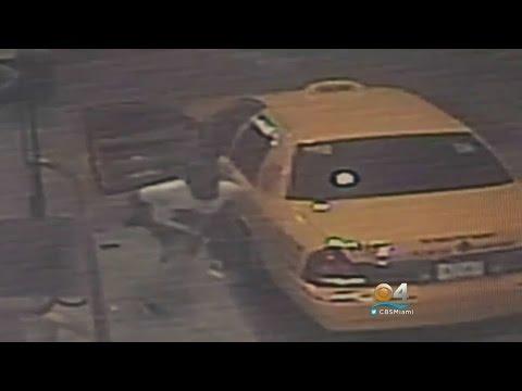 Cameras Capture Crook Ambush, Shoot Cab Driver In Miami