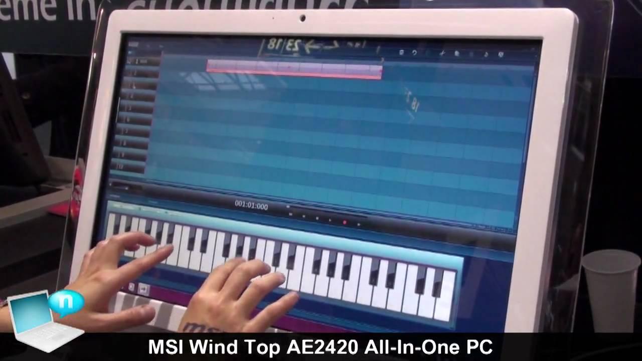 MSI Wind Top AE2420 3D WMIHook Driver Windows 7