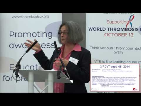 World Thrombosis Day 2015 - Patient Story Alison Wright