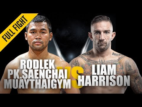 Rodlek Vs. Liam Harrison | ONE Full Fight | Blistering Muay Thai Contest | June 2019