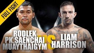 Rodlek vs. Liam Harrison   ONE Full Fight   Blistering Muay Thai Contest   June 2019