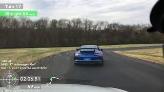 Mk7 GTi @ VIR with Carolinas PCA - White Solo