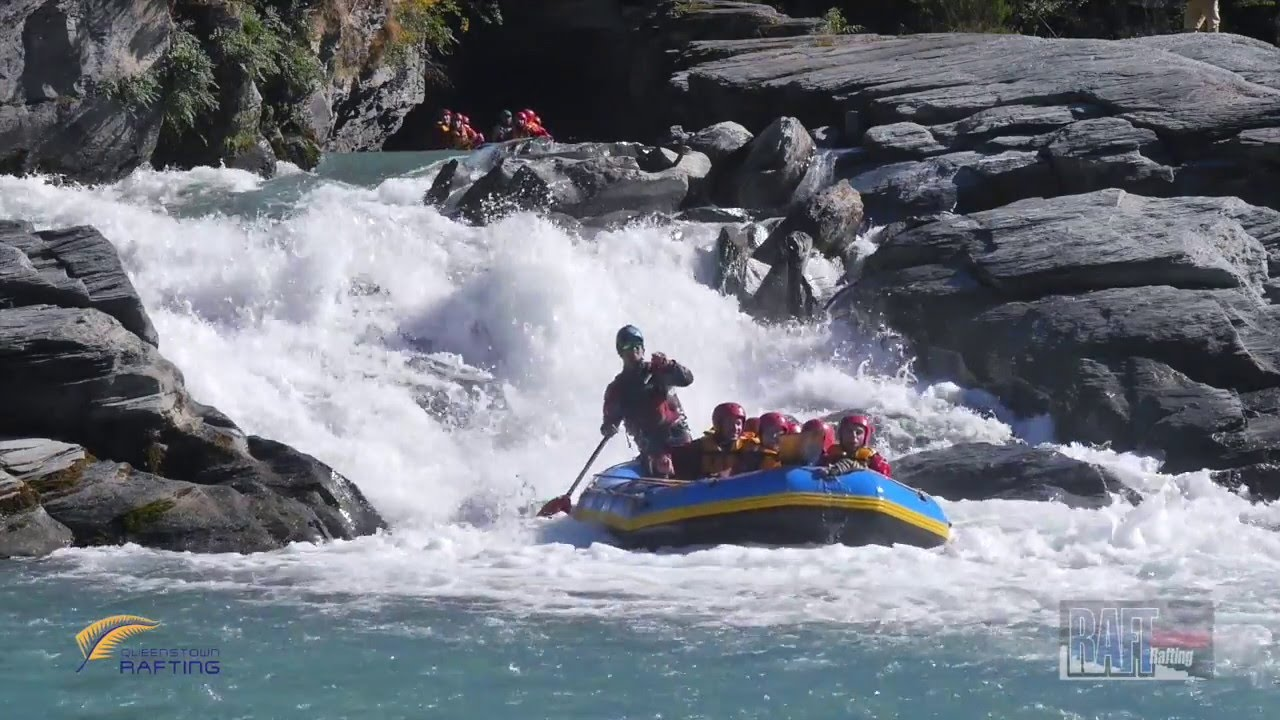 white water rafting queenstown nz youtube. Black Bedroom Furniture Sets. Home Design Ideas
