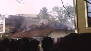My sweet home fire accident in tanuku
