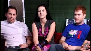 Evanescence - anywhere but home  Behind the scenes -PART 2