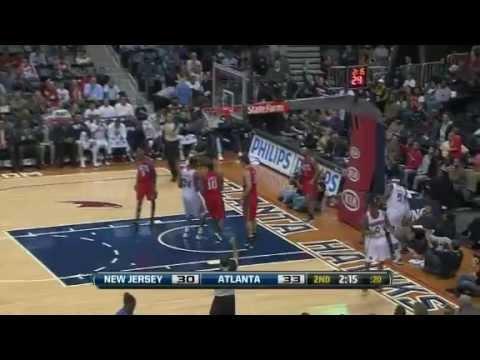 NBA Hawks Vs Nets Game Recap 12/30/2011