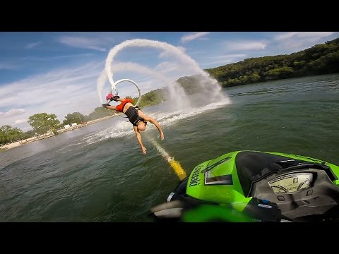 GoPro: Andy's Jet Boot Fail