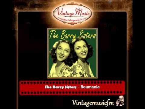 THE BARRY SISTERS Vocal Jazz / Jewish , Hava Nagila , Beltz , Roumani