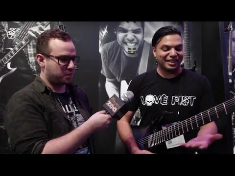 Mansoor Talks About His Jackson Signature Pro Series Guitars