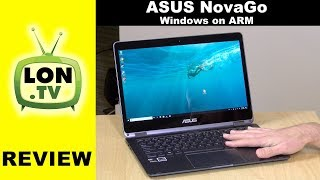 Windows on ARM: Asus NovaGo TP370QL Review: 2-in-1 Laptop with Snapdragon Processor