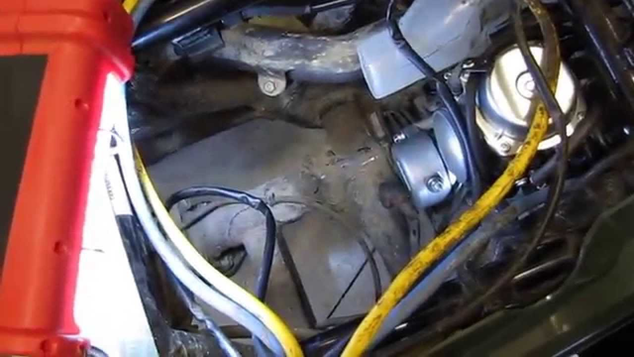 honda rancher trx 350 te replacing the starter by kvusmc pt 3 Honda Foreman 400 Manual