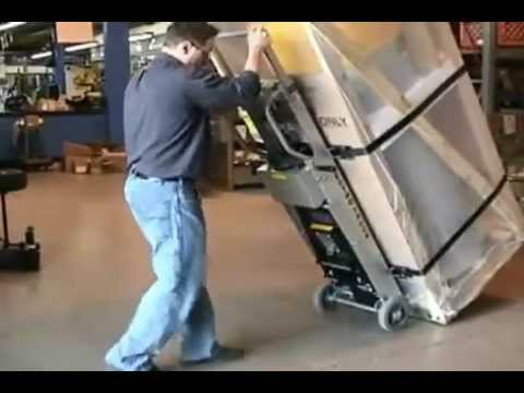 How To Use A Lectro Truck Electric Stair Climber