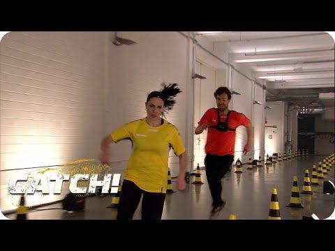Hammer Leistung von Luke beim Office Run - CATCH! Die Deutsche Meisterschaft im Fangen