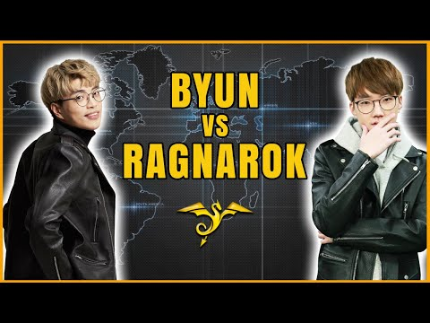 StarCraft 2 - BYUN vs RAGNAROK! - OlimoLeague Invitational #1: Race War