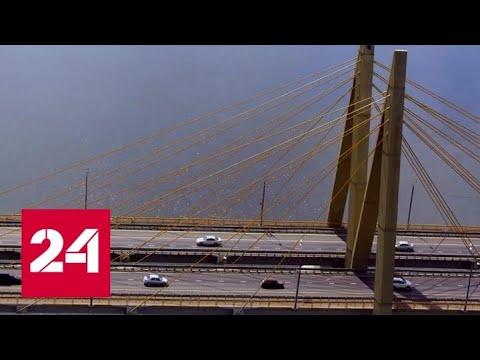 В столице Татарстана строят развязку на Большом казанском кольце - Россия 24